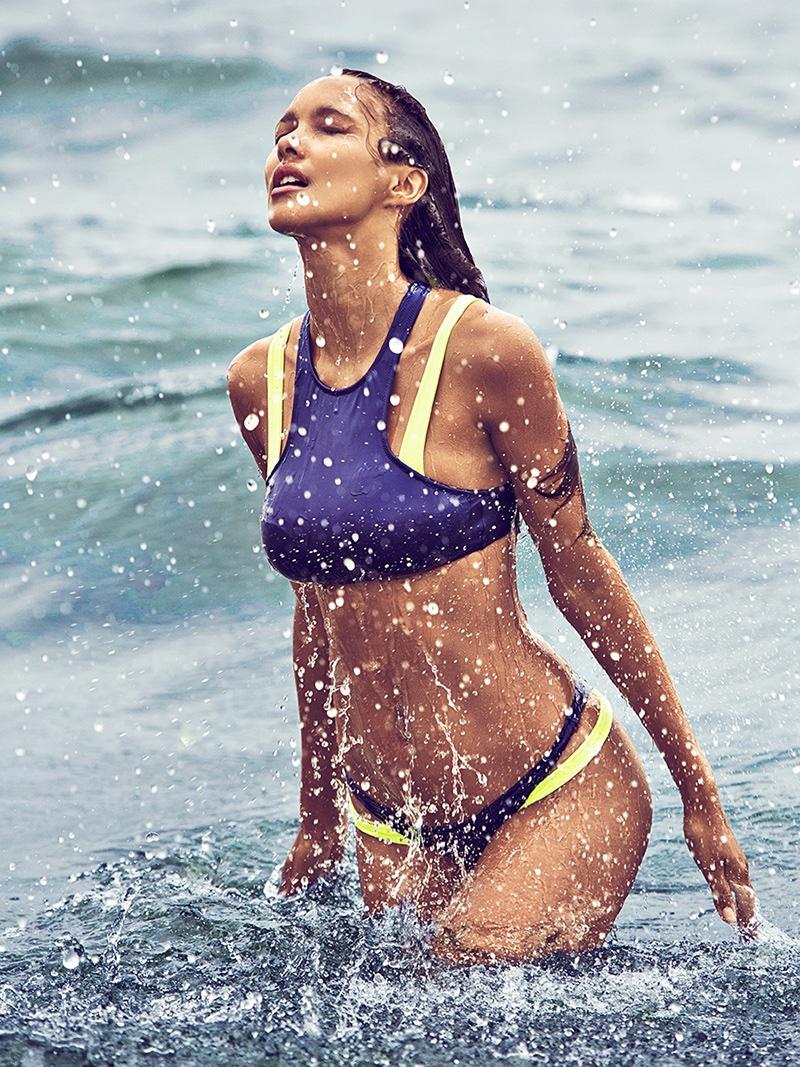 Lais Ribeiro models Victoria's Secret bikini