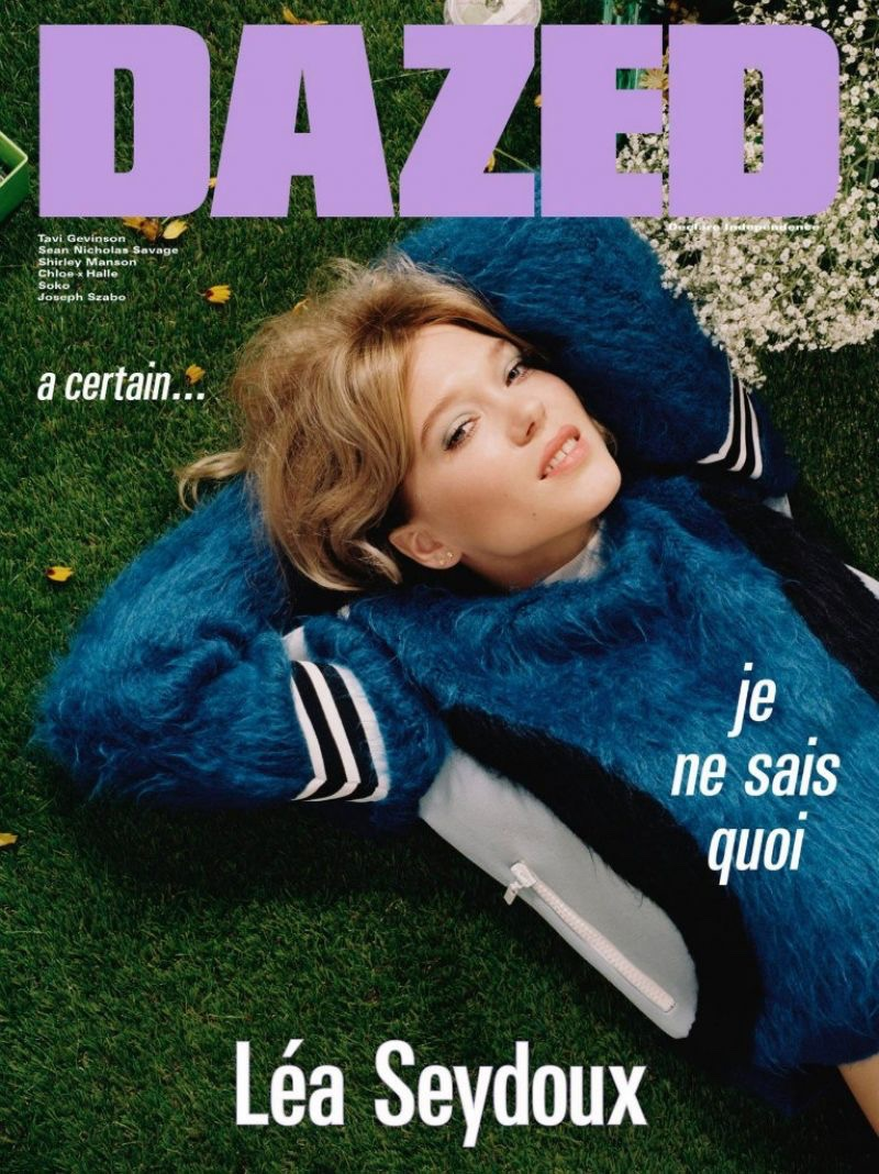 Lea Seydoux on Dazed Magazine Autumn 2016 Cover