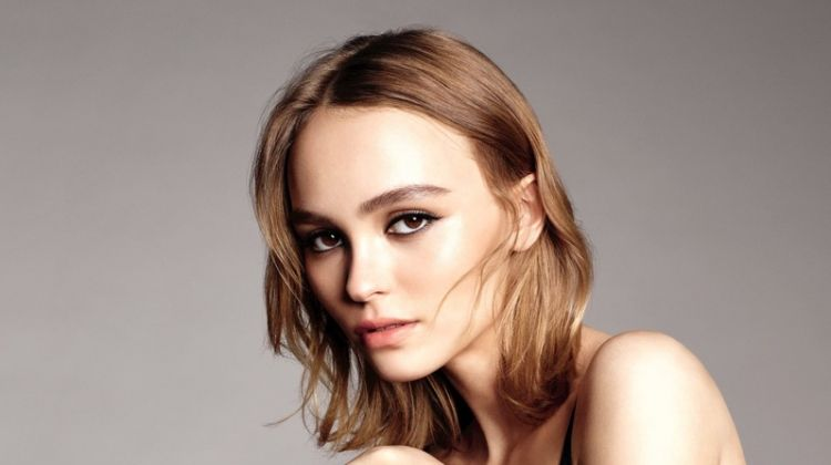 Lily-Rose Depp Stuns in Chanel No.5 L'Eau Campaign