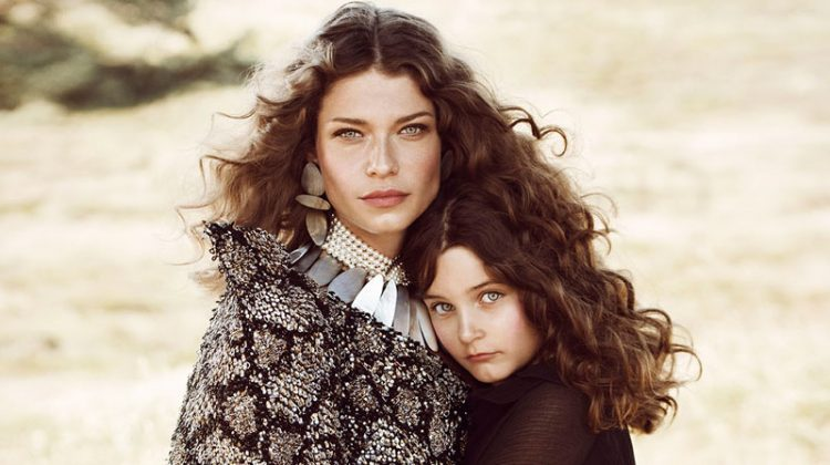 Louise Pedersen & Her Daughter Are Boho Beauties in ELLE Denmark