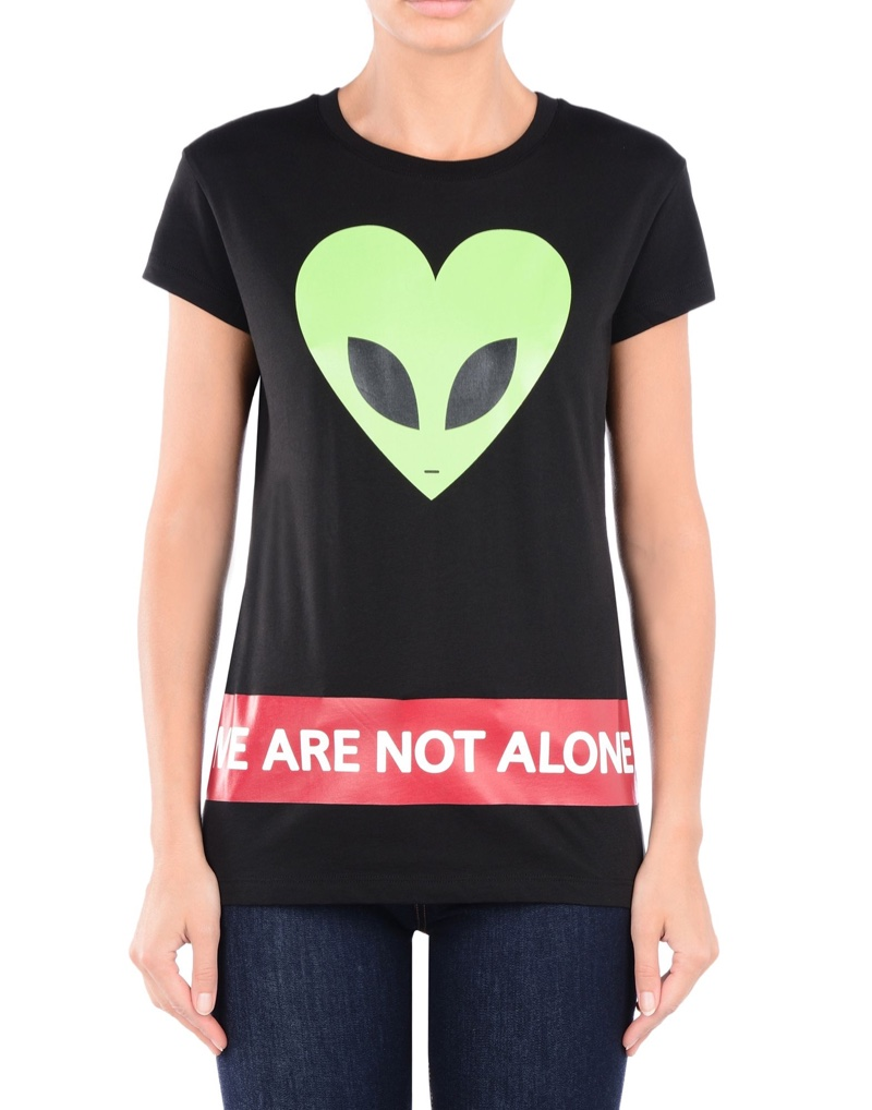 Love Moschino You Are Not Alone T-Shirt
