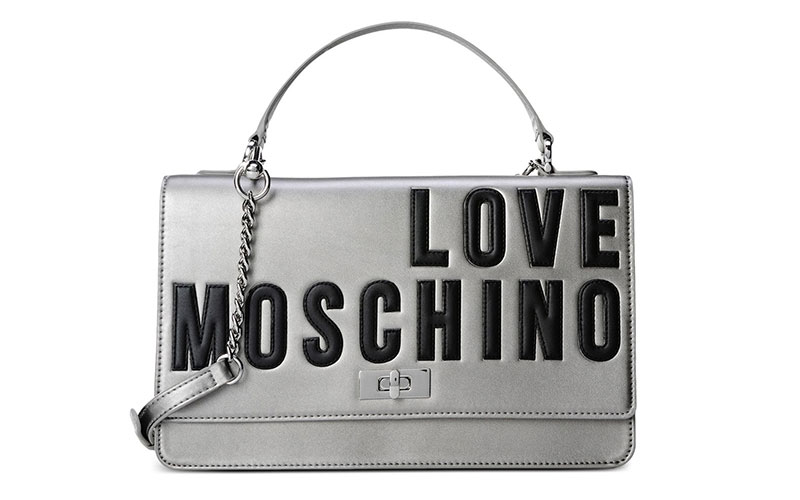 Love Moschino Silver Handbag