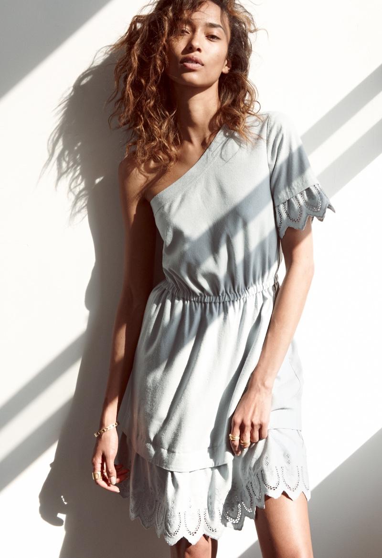 Madewell Summertime Eyelet Dress