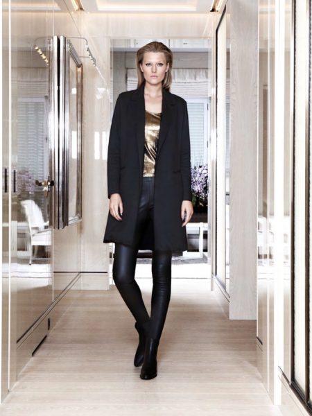 Toni Garrn Looks Luxe in Siran's Fall Collection