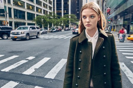 Military Chic: Up Your Outerwear Game in Fall's Officer Coats