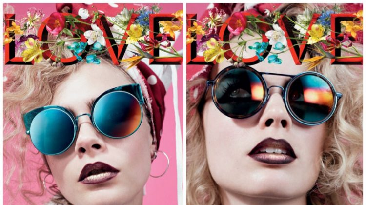 Cara Delevingne & Margot Robbie Are the Cool Kids in LOVE