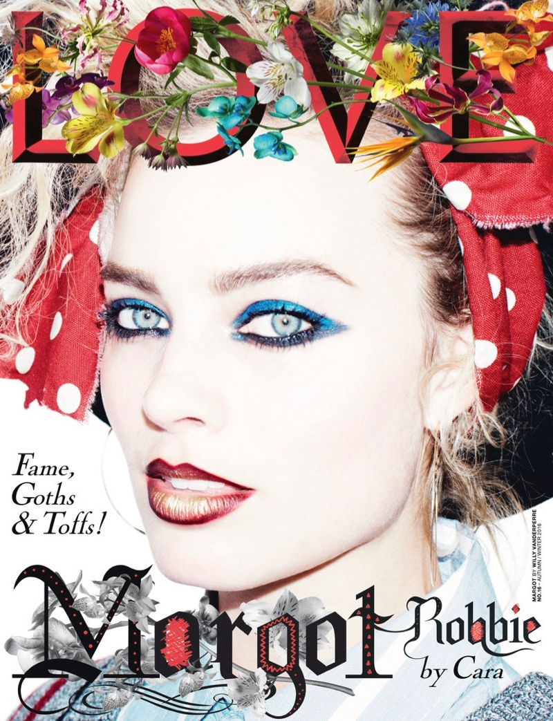 Margot Robbie on LOVE Magazine Fall/Winter 2016 Cover