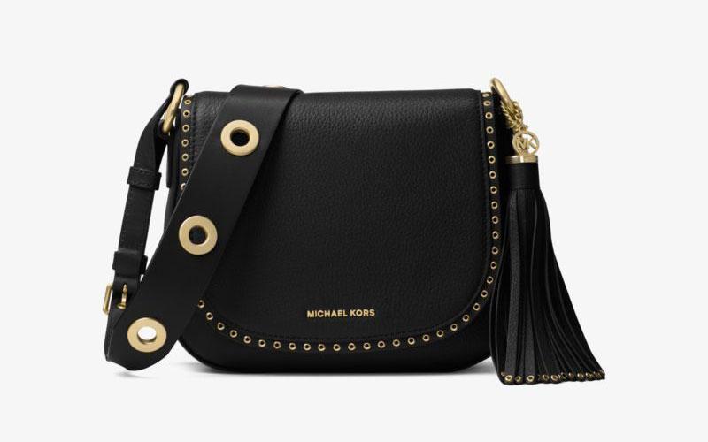 Michael Michael Kors Brooklyn Medium Leather Saddlebag