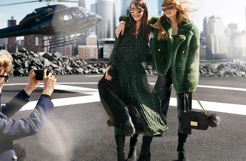 Michael Michael Kors embraces autumn green for new advertisements
