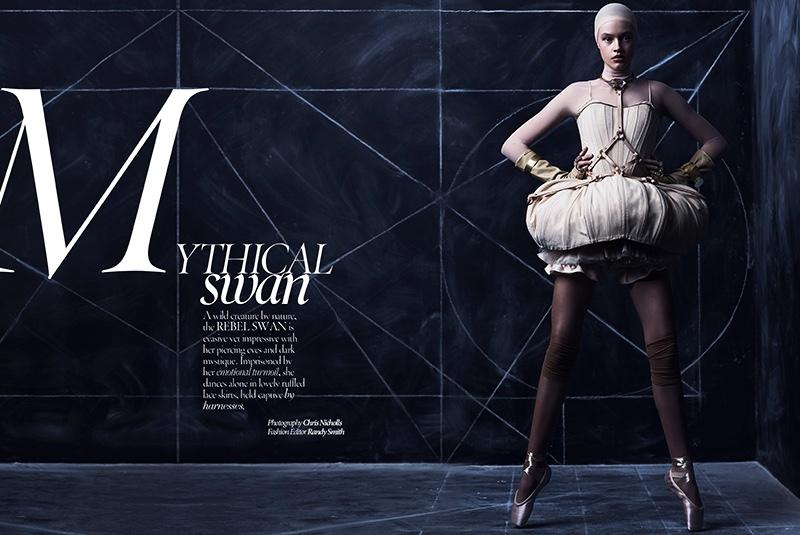 Farrah stars in Dress to Kill Magazine's summer issue