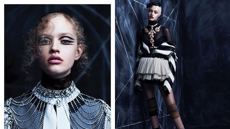 Chris Nicholls Captures Edgy Ballet Style for Dress to Kill Magazine