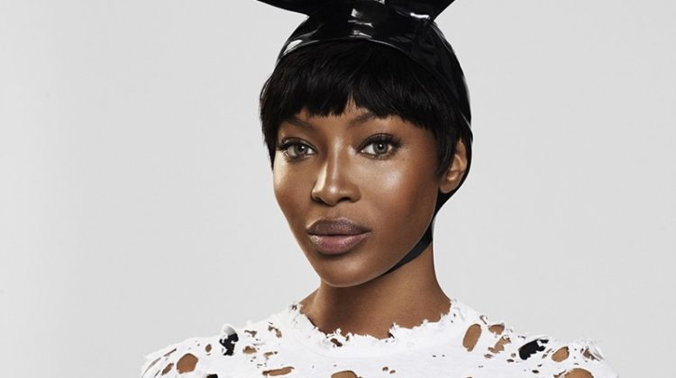 Naomi Campbell Rocks the Pixie Haircut in Paper Magazine