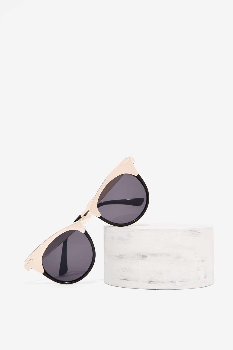 Nasty Gal Country Clubbing Cat Eye Sunglasses