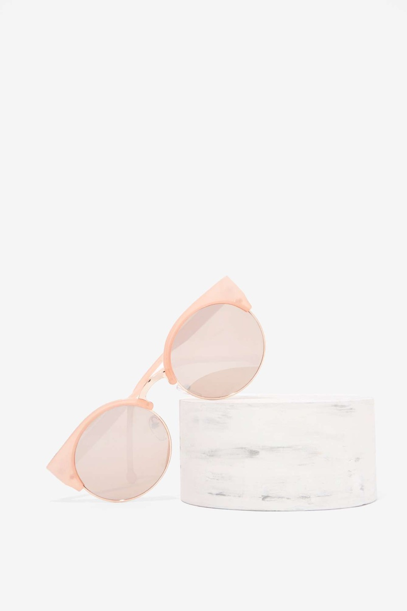 Nasty Gal Free Spirit Cat Eye Sunglasses