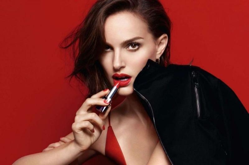 Natalie Portman stars in Dior Rouge makeup campaign