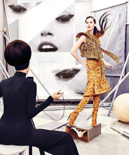 Anna & Pat Cleveland Team Up for Neiman Marcus' Art of Fashion Campaign