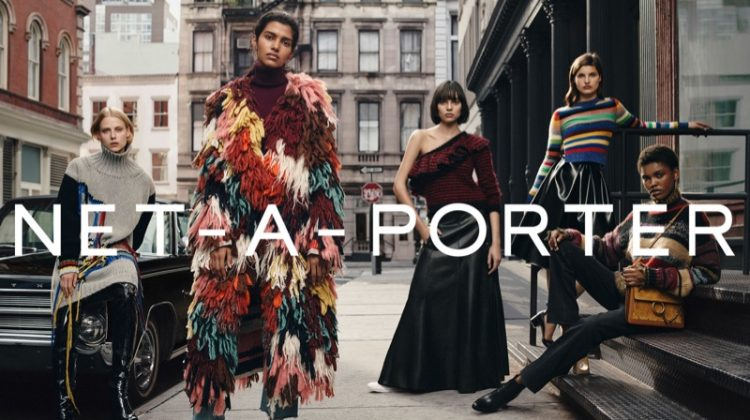 Net-a-Porter Taps a Group of Rising Stars for Fall Campaign