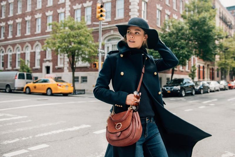 Nina Agdal stars in Michael Kors' The Walk campaign