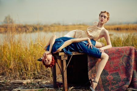 Rhiannon McConnell & Cece Yost Hit the Road for Vogue Brazil