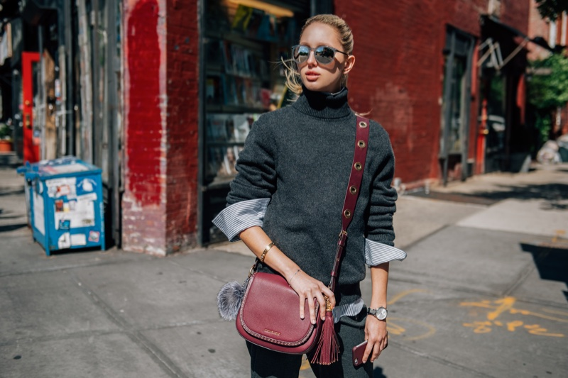 Princess Olympia of Greece stars in Michael Kors' The Walk campaign