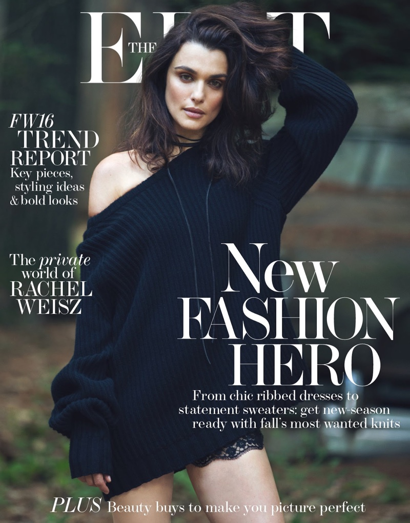 Rachel Weisz on The Edit August 25th 2016 Cover