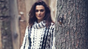 Rachel Weisz is a Natural Beauty in The Edit Cover Shoot