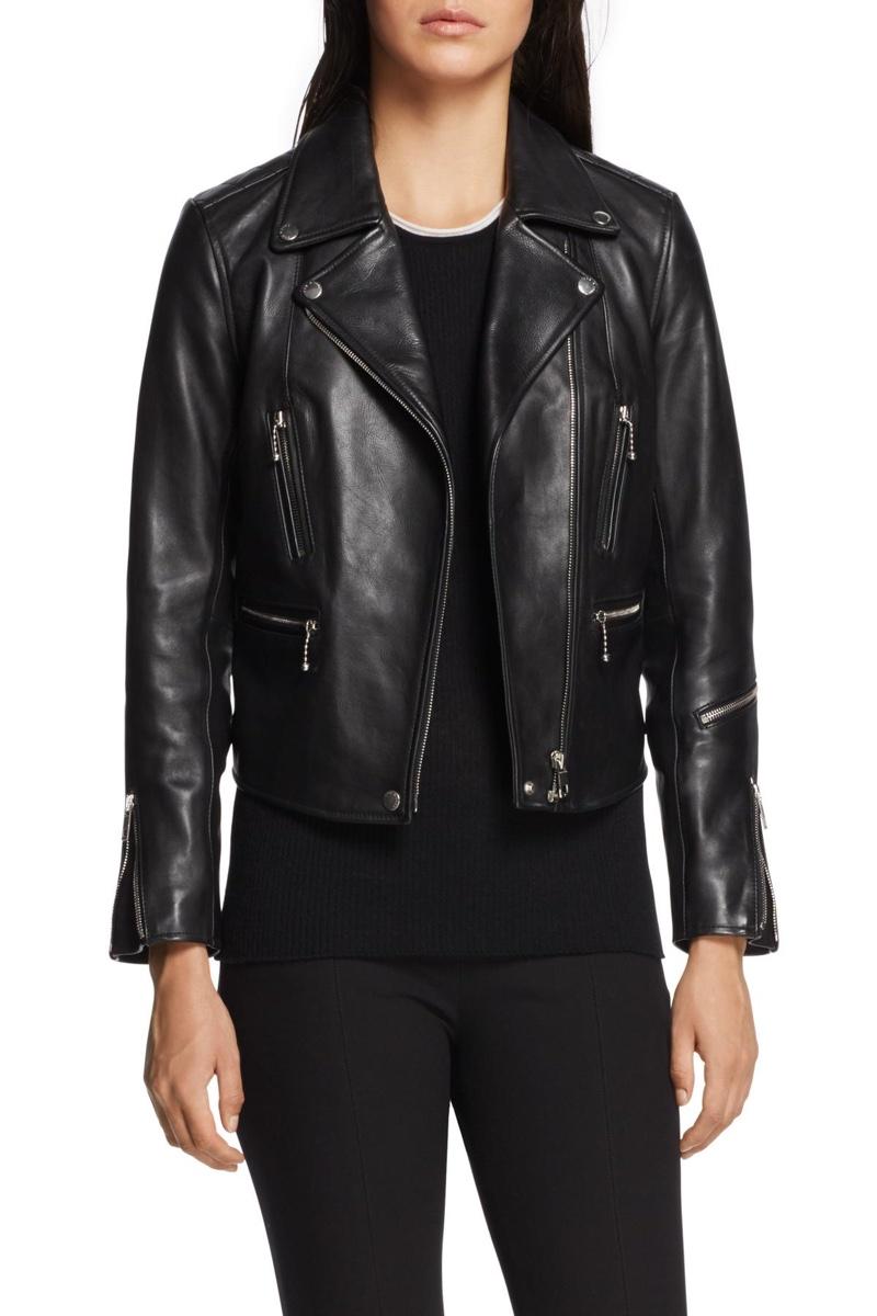 Rag & Bone Arrow Leather Moto Jacket