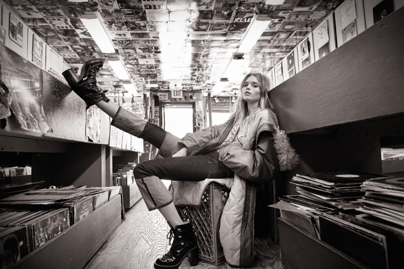 Abbey Lee Kershaw kicks up her heels for Rag & Bone