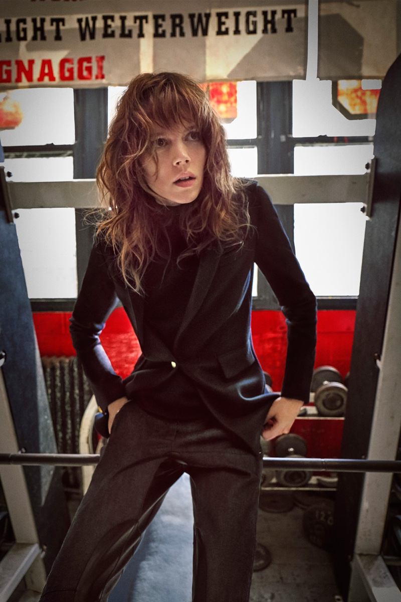 Freja Beha Erichsen suits up in Rag & Bone's fall-winter 2016 campaign