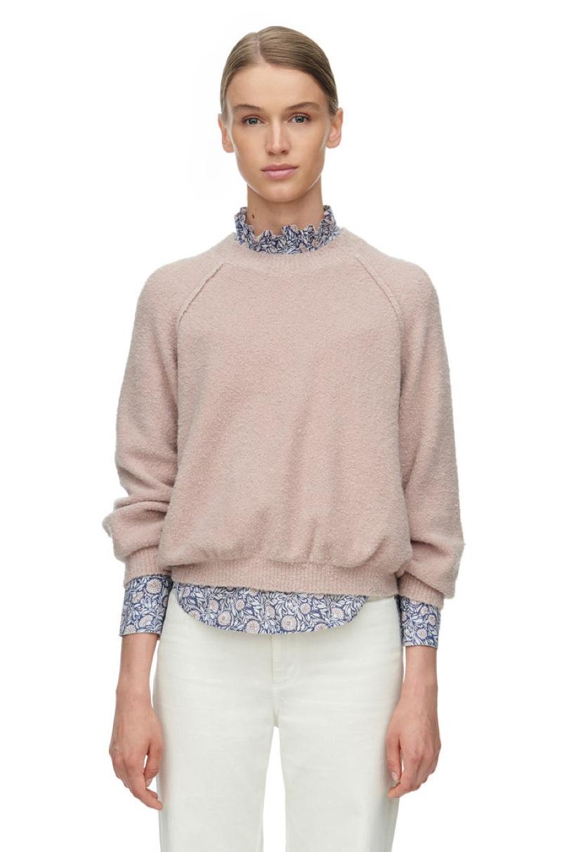 Rebecca Taylor La Vie Boucle Stretch Pullover Sweater