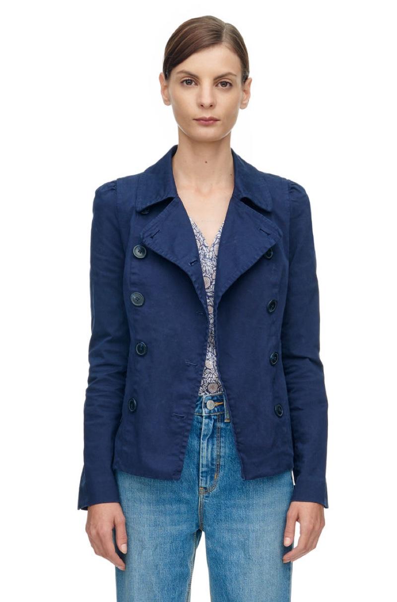 Rebecca Taylor La Vie Luxe Stretch Twill Jacket