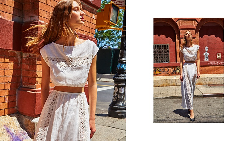 Reformation Aisling Two Piece in White
