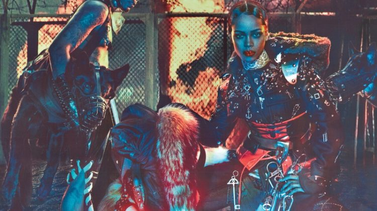 Rihanna Wears Post-Apocalyptic Fashion for W Magazine