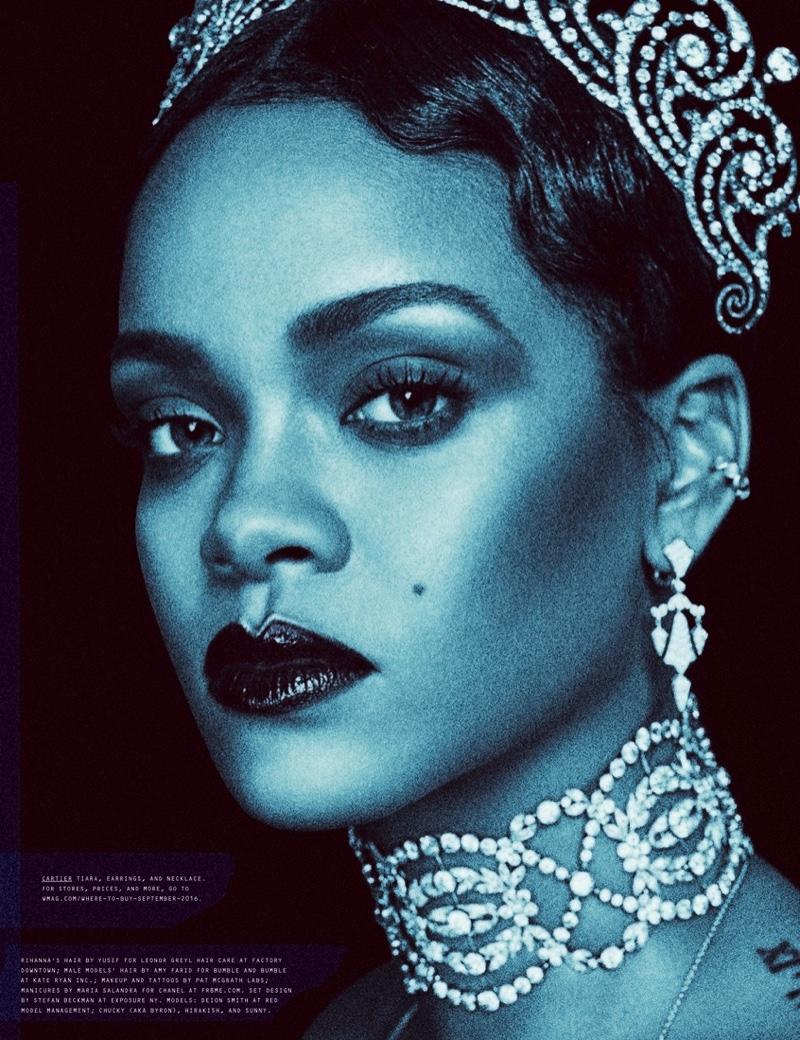 Rihanna Wears Post-Apocalyptic Fashion for W Magazine ...