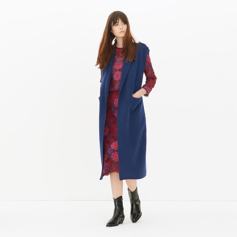 Sandro Bloom Coat
