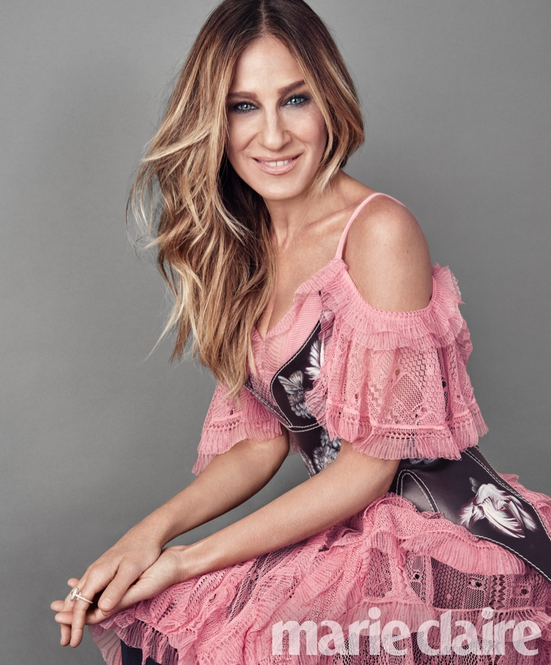Sarah Jessica Parker Stars in Marie Claire, Talks Comeback to TV