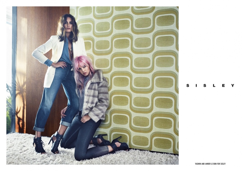 Sisley features denim styles in its fall 2016 campaign