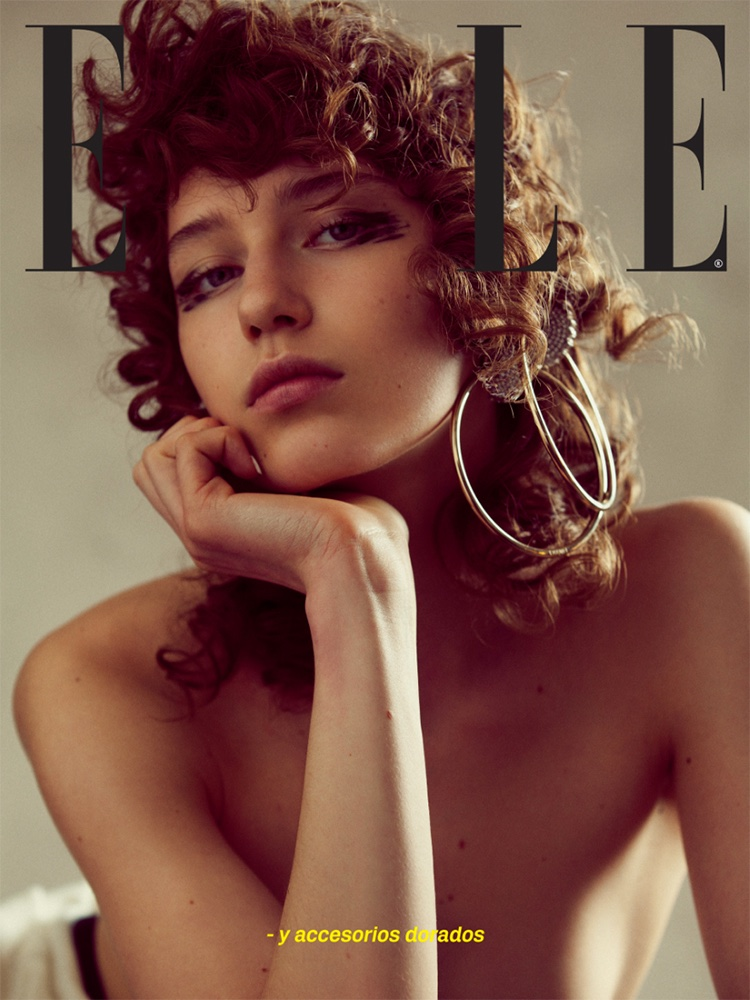 Sofia Tesmenitskaya stars in ELLE Mexico's August issue