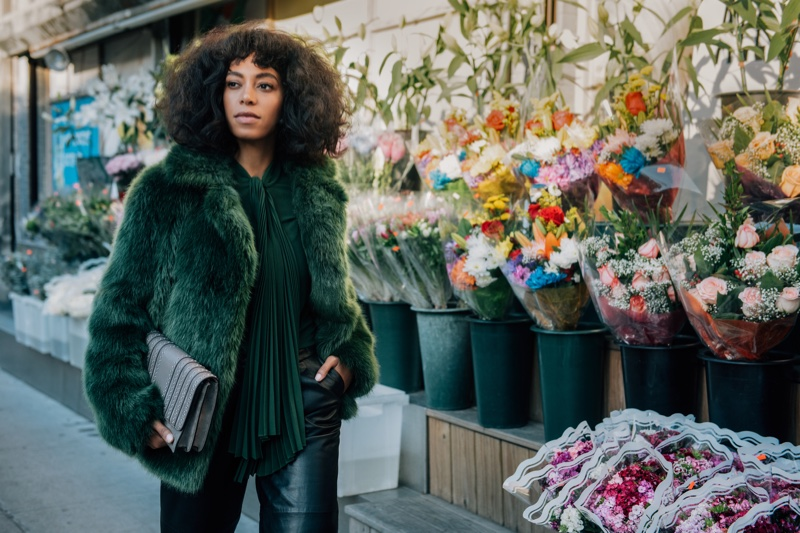 Solange Knowles stars in Michael Kors' The Walk campaign