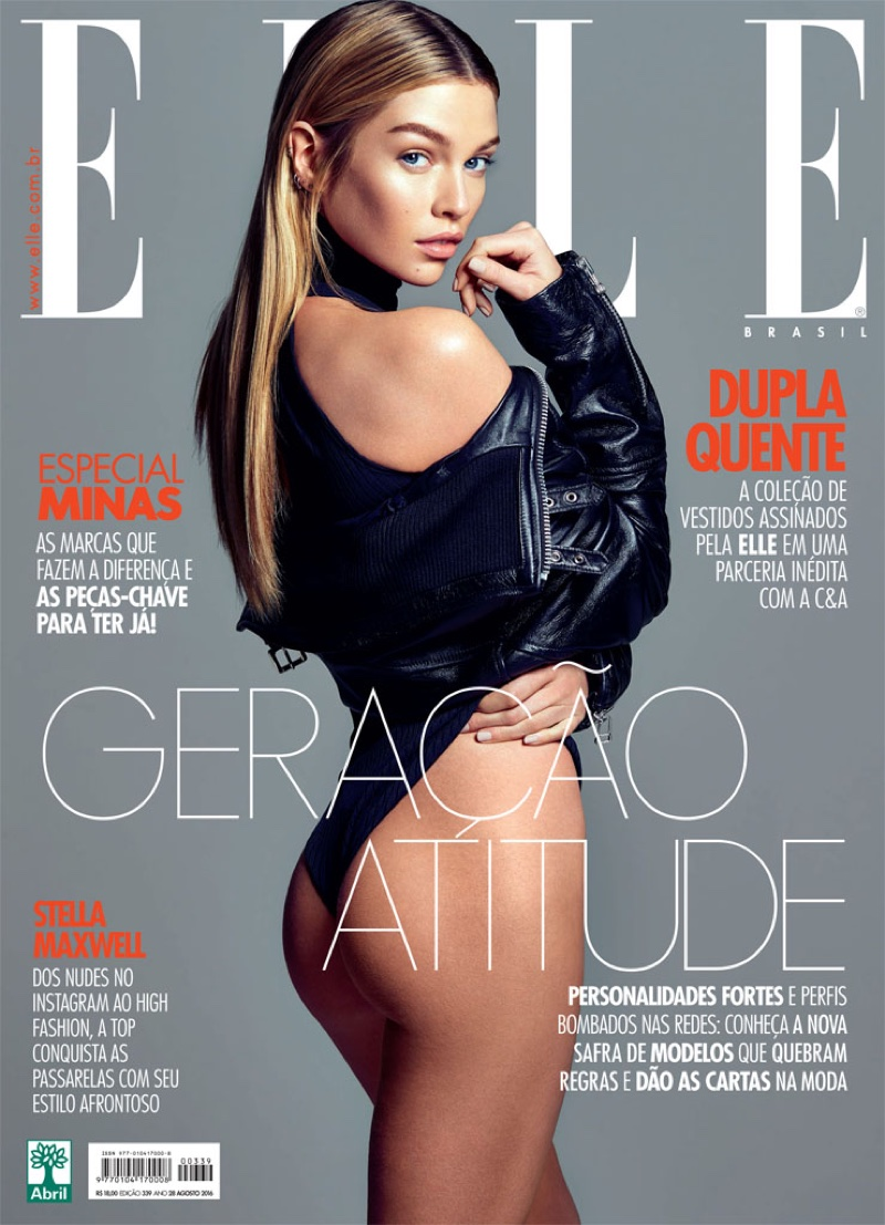 Stella Maxwell on ELLE Brazil August 2016 Cover