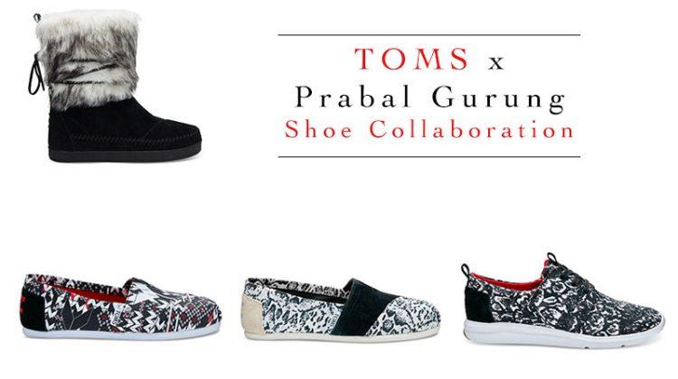 Just Landed: Prabal Gurung's TOMS Shoe Collaboration