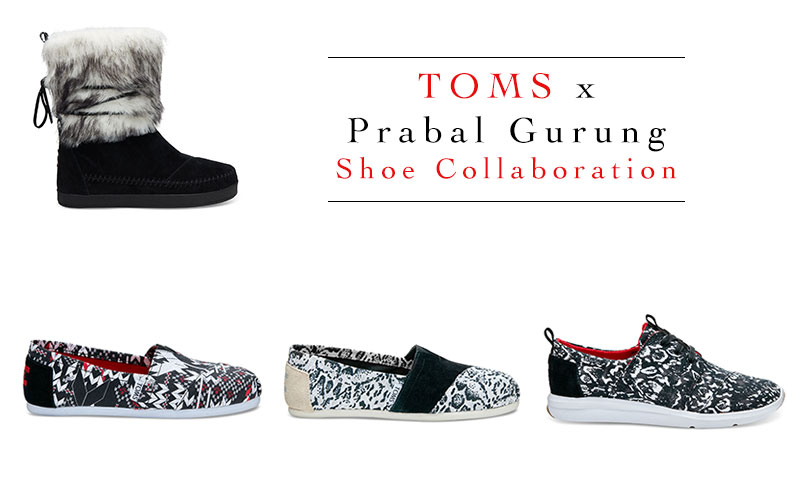 New arrivals: TOMS and Prabal Gurung's shoe collaboration