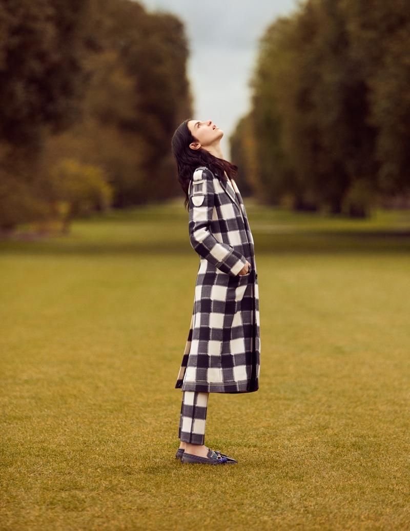 Tali Lennox stars in Tatler UK's September issue