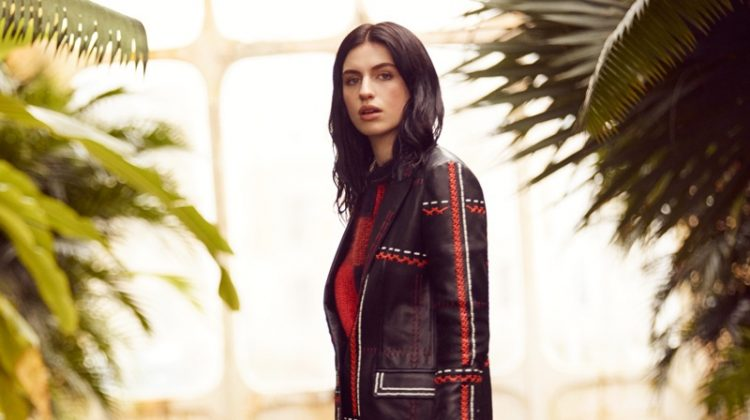 Tali Lennox Looks Sharp in Tod's for Tatler UK