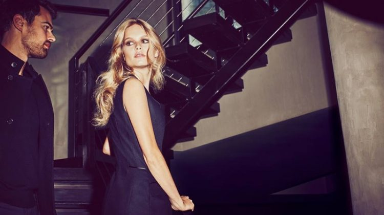 Anna Ewers Joins Theo James for BOSS Fragrance Ad