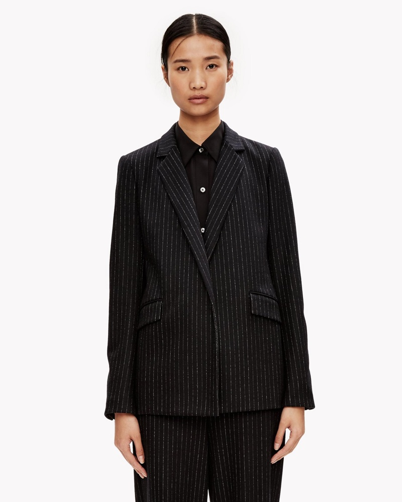 Theory Wool Jersey Unconstructed Jacket