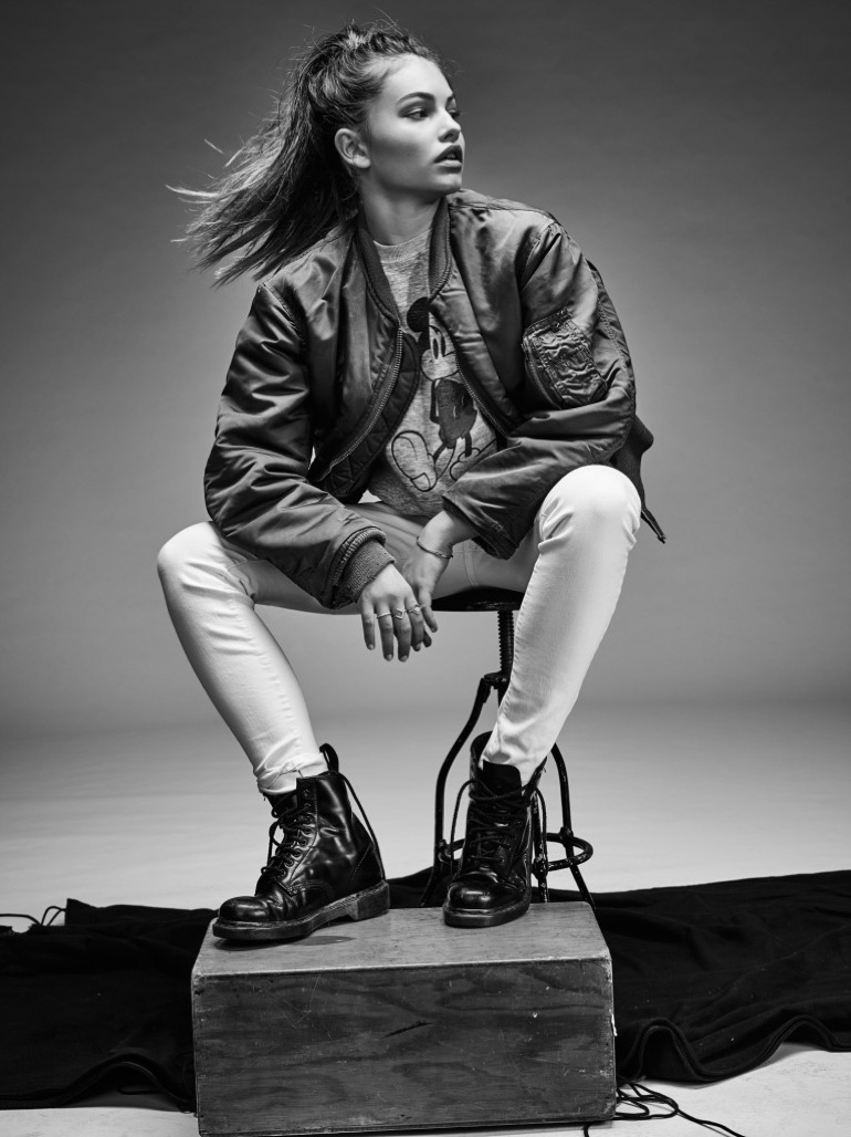Thylane Blondeau stars in Flaunt Magazine editorial