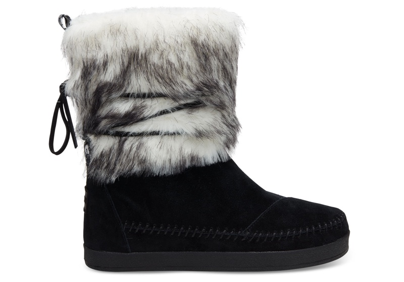 TOMS x Prabal Gurung Suede Contrast Nepal Boots