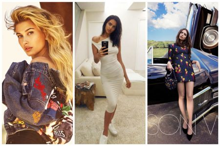 Week in Review | Irina Shayk's Major Cover, Hailey Baldwin for Guess + More