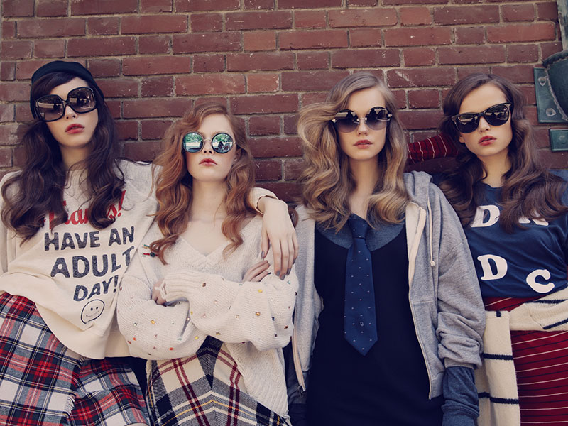 Wildfox goes retro with fall 2016 'Academy' collection